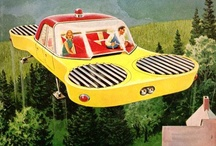 Retro Future (Transport and spaceship) / by Pere Marquez