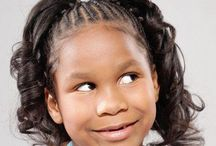 Hair styles for little girls / by Donna Washington