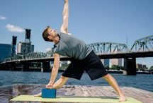 Athletic Yoga / Our newest collection of longer mats and towels and denser, sturdier props for the athletic yogi. / by Gaiam