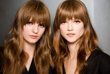|Bangin| / my on and off obsession with cutting bangs, growing them out, cutting bangs, growing..... / by Erin Lane