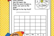 Sight Word/Spelling Activities / by Brenda Forgerson