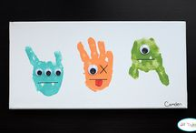Handprint & Footprint Art / by Craft Project Ideas