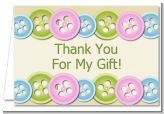 Baby Shower Thank You Cards / These are the thank you cards we have which match whatever invitations and favors that you decide on in whatever theme it is that you want. / by Candles & Favors