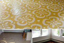 Floor DIYs / by The Painted Home