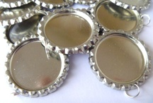 Bottlecap Crafts / by Just Cheer Bows