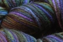 Yarn / by Lavender Wool (www.lavenderwool.com)
