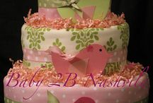 Diaper Crafts / Diaper Cakes and wreaths etc / by Eustacia Jennings