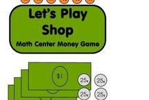 Kindergarten  - money / by Paula Miller