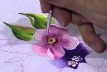 onestroke paintig / by Ansari Ateeq Kamaluddin
