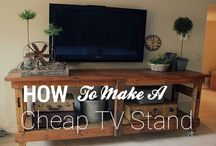 Universal TV Stands / This is a collection of Universal TV Stands and DIY TV Stands, some are easy to do while some you can get them thru different stores. Join us as on http://universaltvstand.com/ and check out the best TV stand designs for your living room :) / by Sanjay Khemlani