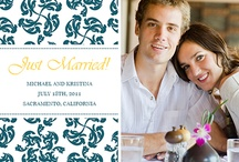 Wedding Announcements / Customizable wedding invitations and announcement templates. Customize yours with your own pictures and text! / by ModernGreetings.com