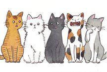 Kitties! / by Elisabeth E