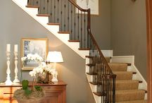 House Ideas |  Living Room & Stairs / by Elizabeth Price