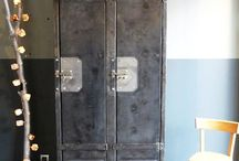 "vintage industrial / ""real vintage"" (preference being pre-70's).    also see my ""found + kept"" board for vintage industrial pins. / by Everyday Agnes"