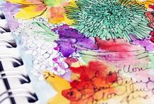 Watercolor Inspirations / by Coral Johnson
