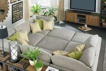Living Room Ideas / by Melissa Davis