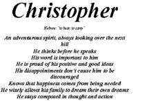 """ CHRISTOPHER "" / Christopher is our only nephew so you know how special he is. He's handsome, adventurous, loving, kind and a great son, friend, co-worker and nephew. He's the type of guy any mother would be proud for her daughter to fall in love with. To put it simply Chris is a good man.  / by ONEHEART ♥"