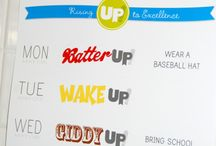 Let's get fired up! / School spirit ideas / by Mandy Cooley