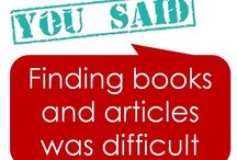 You said.. we did / You said...we did at SGUL Library 2013 / by SGUL Library