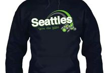Seahawks!!!!! The sounders!!!! / by Shell Cheese