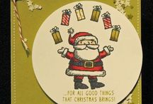 SU Christmas 2014 / by Michelle Andrews - Stampin Up Demo