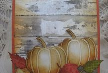 Thanksgiving Cards / Cards that make you thankful / by Marlene Farrens