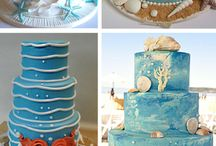 wedding cakes / by Krista Howell