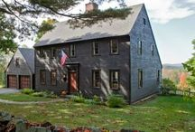 ★ ✩The Colonial Saltbox★ ✩ / by A Primitive Place & Country Journal Magazine