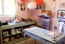 Craft room bliss / by Wendy Smith