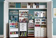 Craft and Scrapbooking Storage / by Jacqueline Graves