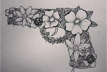 tattoo tekeningen / by Ron Voets