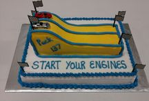 Pinewood Derby Car Cake / by Mary Palermo