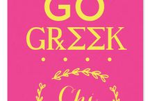 GO GREEK / Love the Greek Life? FYP has all the essentials for your sorority/frat  / by ForYourParty.com