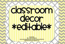 Ideas for my classroom. / by Debbie Chamlee