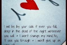 Lyrics to love!!  / by Shelly Kohls