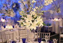 Wedding Center Pieces / by Kimberley Johnson
