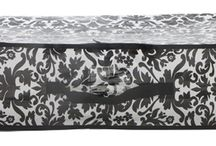 Black Damask Storage / by Decor 2 Ur Door