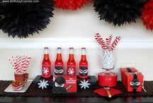 Ninja Birthday Party / Have a super sneaky ninja warrior birthday party! Check out the party supplies and ideas! #BirthdayExpress / by Birthday Express