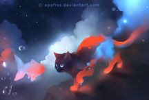Apofiss / I love : http://apofiss.deviantart.com/gallery/ / by Kaorie Lilyse