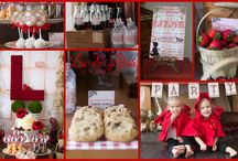 Storybook Picnic {Red Riding Hood} / --> AS SEEN IN CAROUSEL MAGAZINE <--  Luc & Lilah Events has designed up a huge printable collection featuring Little Red Riding Hood!  This collection is ALL you need to decorate for your event! / by Luc & Lilah Events