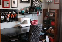 Craft/ sewing room / by Nicole McElvany Howse