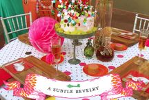 Centerpieces / by Angie Lee {Seven Clown Circus}