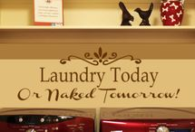 laundry room ideas / by Melissa Ann