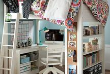 Built In Bunk Beds / by Kelley Petkun