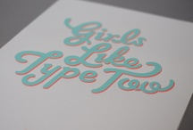 Graphics & Type / by Jude Whyte