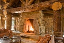 cabin fever / cabin / lodge / mountain / rustic / country / by Lyndy