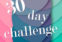 30 Day Challenges / by Alicia Hawks Rodriguez