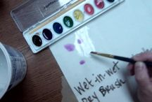Art Ed- Water Color / Water Color / by Patricia Schmoutz
