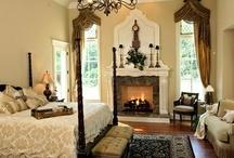 master bedroom fireplace / by karen meer