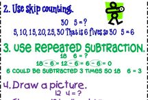 Math-Multipication & Division / by Jenniffer Pope
